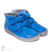 be lenka- Winter- Kinderbarfußschuhe-Penguin blau