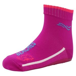 BEACHIES Kinder Wattsocken / Aquasocken  – Fuchsia-pink